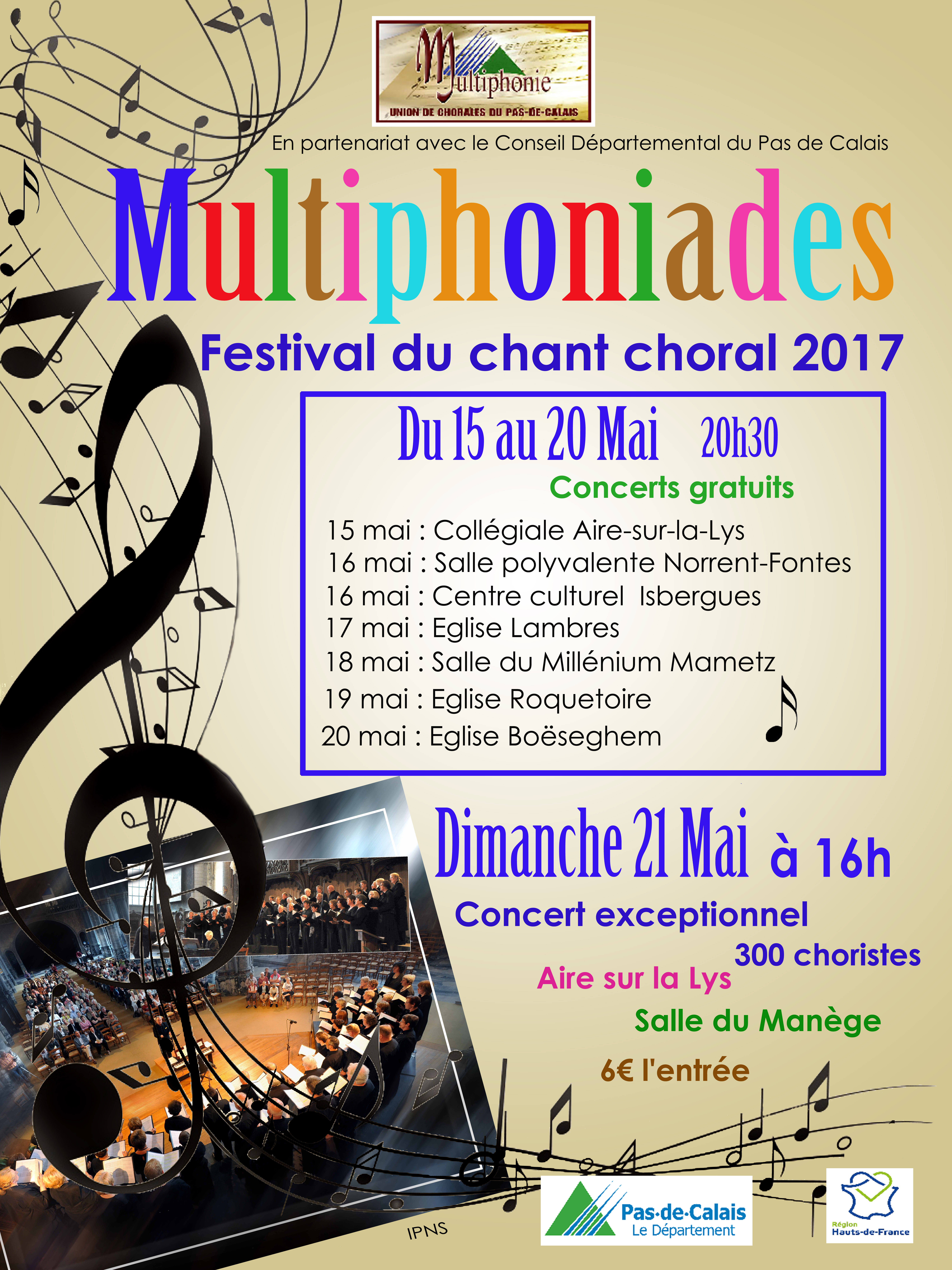 affiche multiphoniades